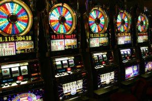 Several slots machine